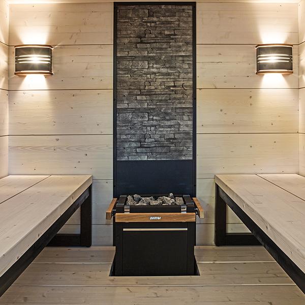 solide indoor sauna von harvia tolles design g nstig kaufen. Black Bedroom Furniture Sets. Home Design Ideas