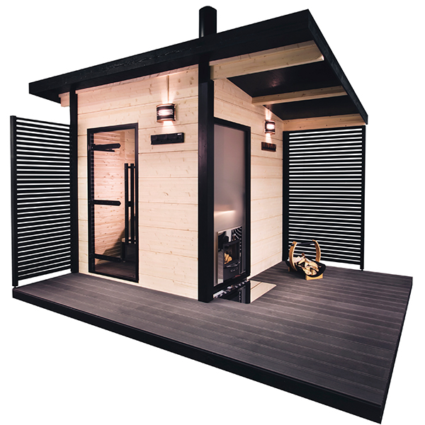 solide outdoor sauna von harvia tolles design g nstig kaufen. Black Bedroom Furniture Sets. Home Design Ideas