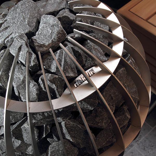 SAUNAOFEN   Globe Elektro Steine
