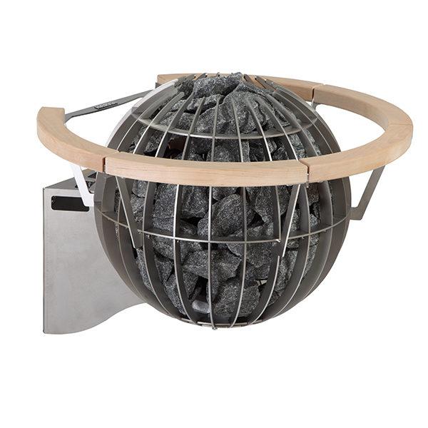 SAUNAOFEN  Globe Elektro Wand Holz