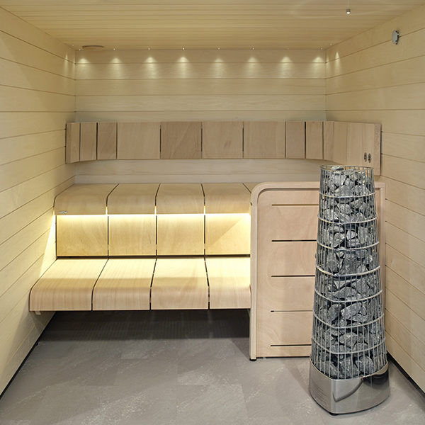 SAUNAOFEN | Kivi Elektro in Sauna