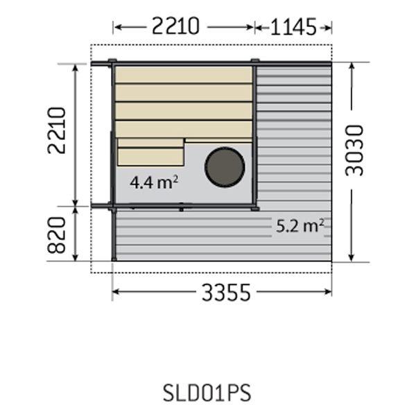 SAUNA | Solide SLD01PS