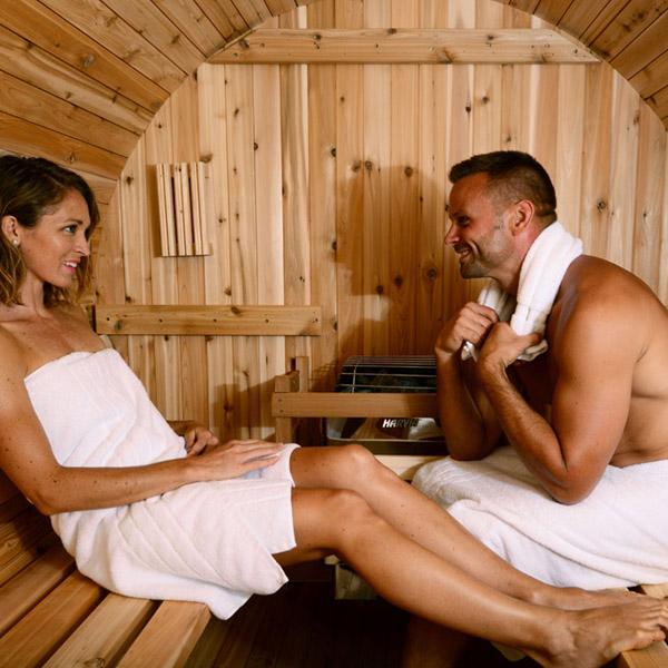 FASS-SAUNA | Pinnacle Almost Heaven Saunas Paar